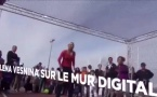 Animation high-tech Mur interactif